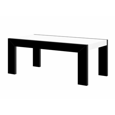 Yasmin Coffee Table Color: Black/White