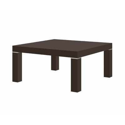 Kiera Coffee Table Color: Brown Gloss