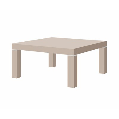Kiera Coffee Table Finish: Cappuccino Gloss