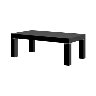 Tania Coffee Table Color: Black