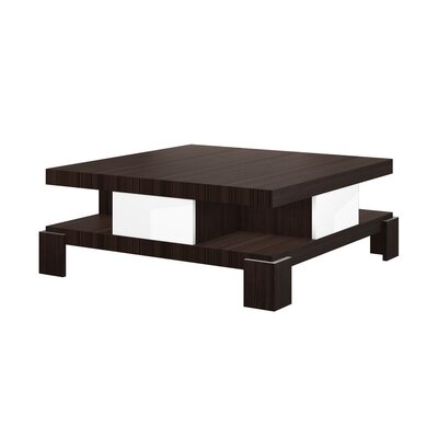 Dolores Coffee Table Color: Brown