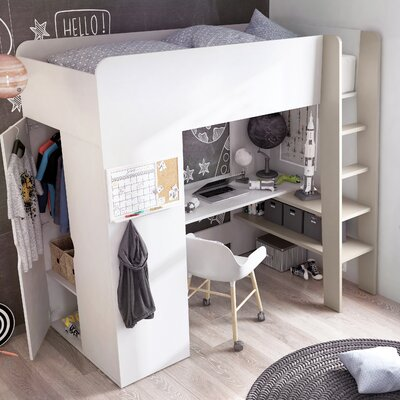 Colten Extra Long Twin Loft Bed