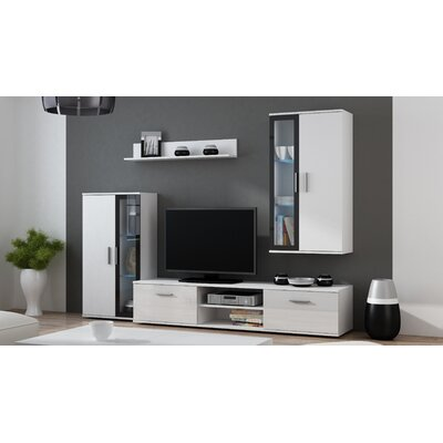 Dipaolo Entertainment Center Color: White Gloss