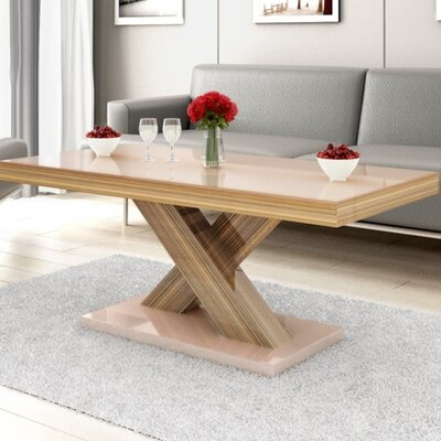 Collingswood Coffee Table Finish: Oak/Cappuccino