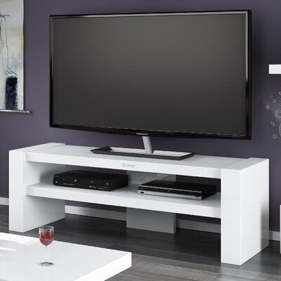 Dionte 54.3 TV Stand Color: White