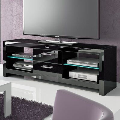 Dina 60 TV Stand Color: Black