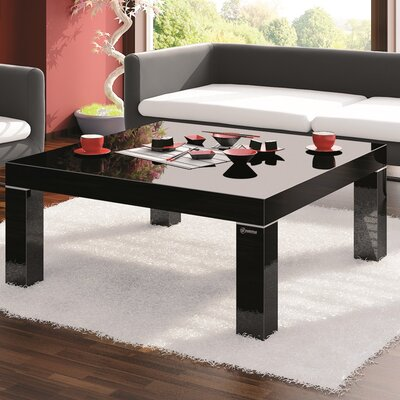 Kiera Coffee Table Color: Black Gloss