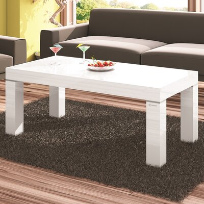 Tania Coffee Table Color: White
