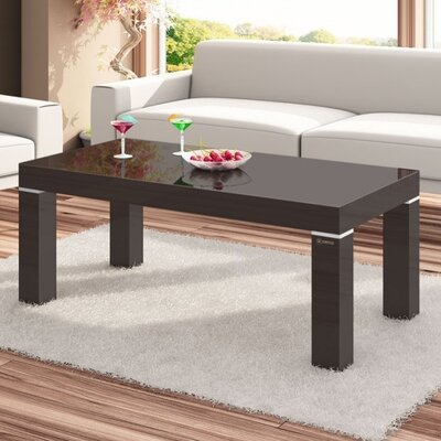 Tania Coffee Table Color: Brown