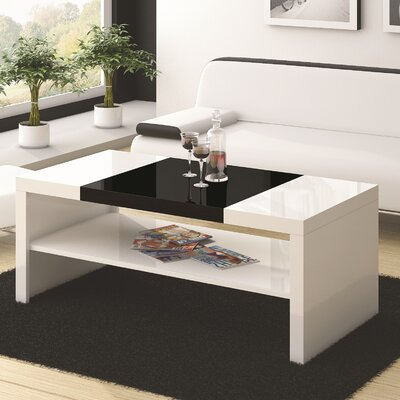 Dominguez Coffee Table Color: White