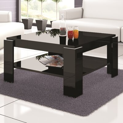 Dix Coffee Table Color: Black