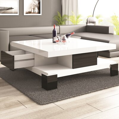Dolores Coffee Table Finish: White