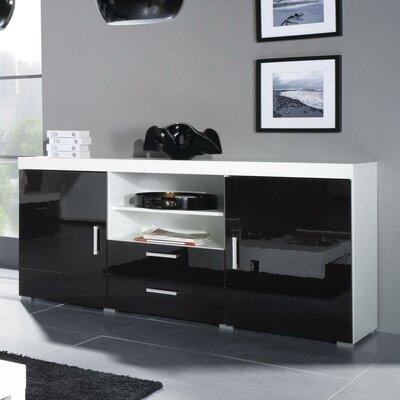 Fabiola High Gloss Sideboard Color: Black