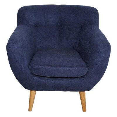 Aydan Armchair Upholstery: Blue