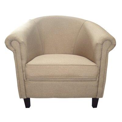 Evan Armchair Upholstery: Beige