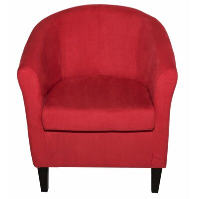 Thurmond Armchair Upholstery: Red