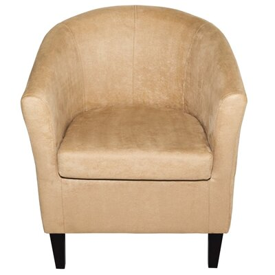 Thurmond Solid Wood Armchair Upholstery: Beige