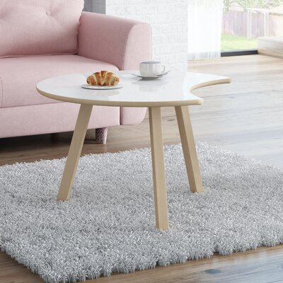 Blandford Wood Coffee Table Top Finish : Matte White