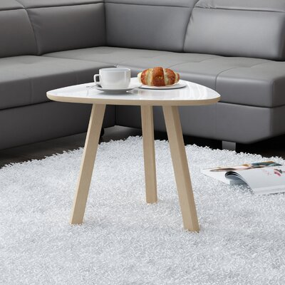 Blandford Natural Coffee Table Top Finish : Gloss White