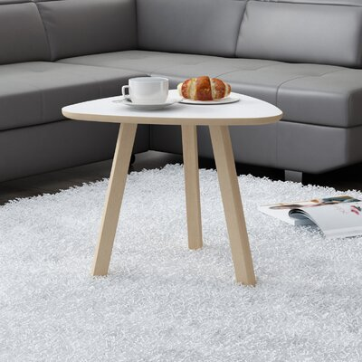Blandford Triangle Coffee Table Top Color: Matte White