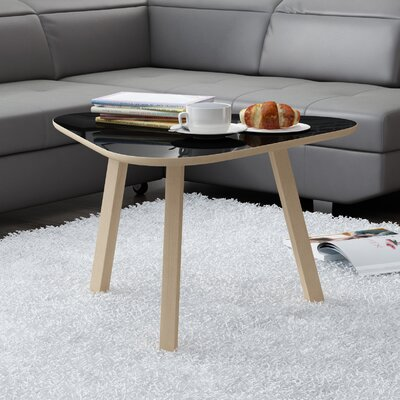 Blandford Triangle Coffee Table Top Color: Gloss Black