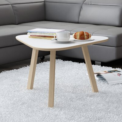Blandford 3 Legs Coffee Table Top Finish : Matte White
