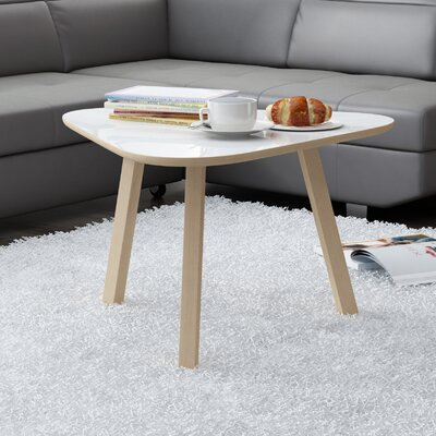 Blandford Modern Coffee Table Top Color: Gloss White
