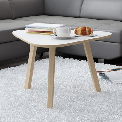 Blandford Modern Coffee Table Top Color: Matte White