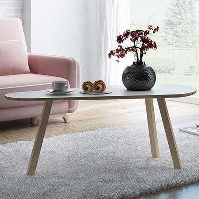 Blandford Contemporary Coffee Table Top Finish: Matte White