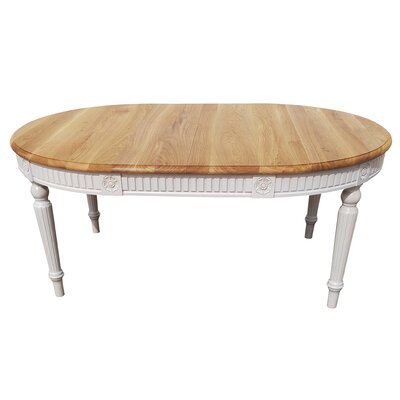 Felicien Oval Solid Wood Dining Table