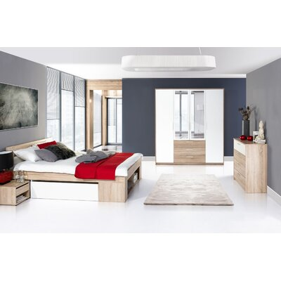 Duren Queen Platform Customizable Bedroom Set