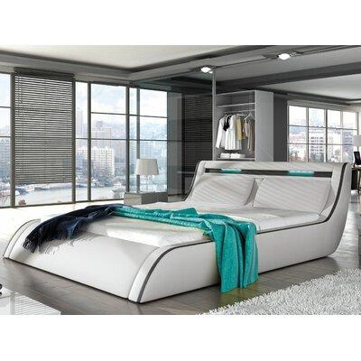 Peabody Modern King Upholstered Platform Bed
