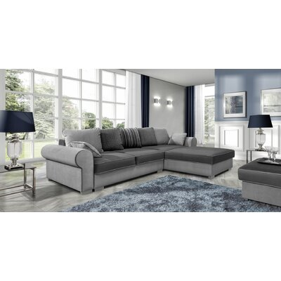 Bohrer Reversible Sleeper Sectional Orientation: Right Hand Facing