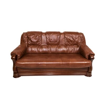 Bobby Jones Genuine Leather Sofa