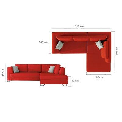 Karlin Sleeper Sectional Orientation: Left Facing