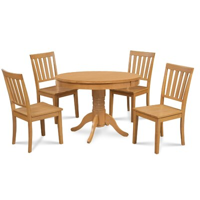 Cedarville 5 Piece Oak Dining Set