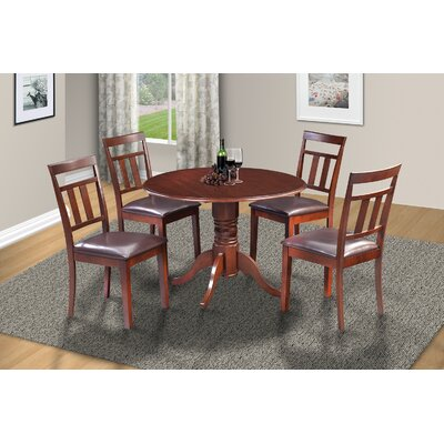 Chesterton 5 Piece Mahogany Dining Set