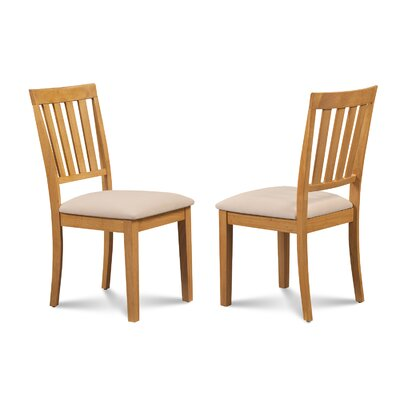 Chicago Soft Padded Dining Side Chair Finish: Oak