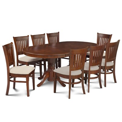Inwood 9 Piece Dining Set Finish: Espresso