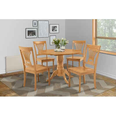 Chesterton 5 Piece Dining Set Finish: Oak