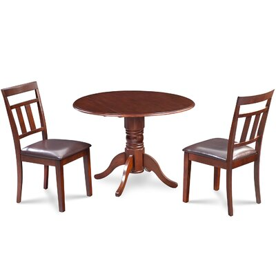 Chesterton 3 Piece Carved Dining Set