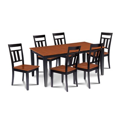 Charlestown Contemporary 7 Piece Dining Set
