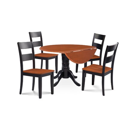 Chesterton 5 Piece Carved Dining Set