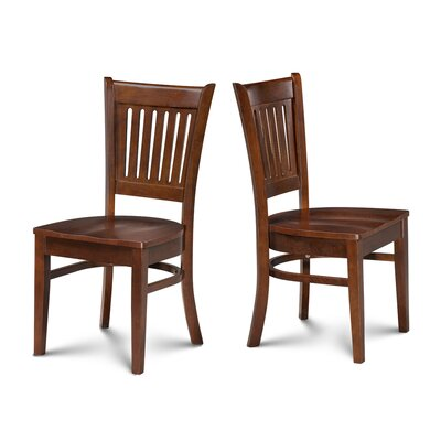 Corcoran Dining Solid Wood Dining Chair Finish: Espresso