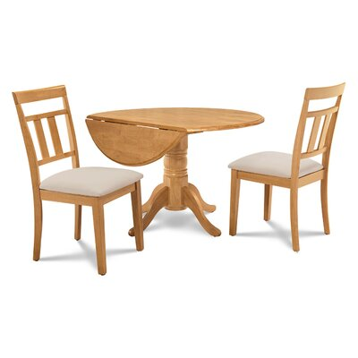 Chesterton 3 Piece Wood Dining Set
