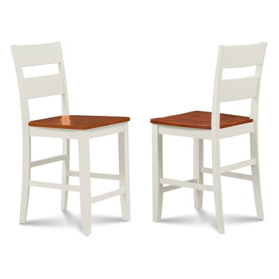Charlestown Solid Wood Dining Chair Finish: White