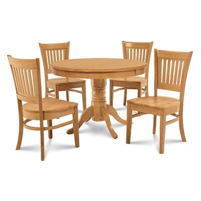 Cedarville 5 Piece Dining Set Color: Oak