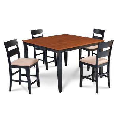 Charlestown 5 Piece Counter Height Dining Set
