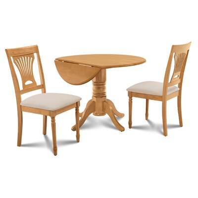 Chesterton 3 Piece Oak Dining Set