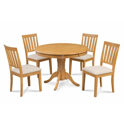 Cedarville Elegant 5 Piece Wood Dining Set